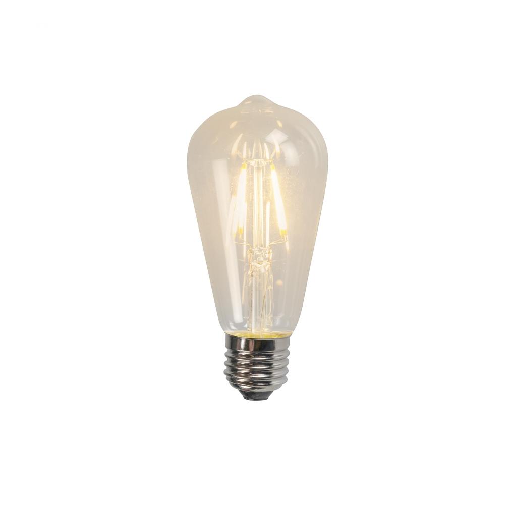 Żarówka LED E27 filament ST64 4W 470LM 2700K
