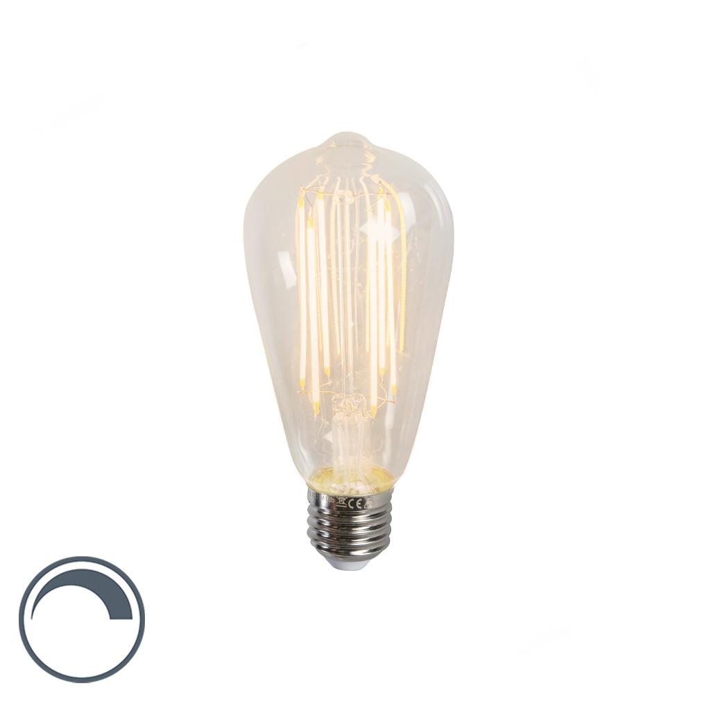 Żarówka LED E27 ST64 filament 240V 4W 350LM 2300K ściemnialna