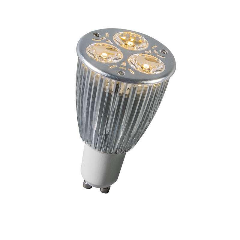 GU10 Power LED 3 x 2W warm wit DIMBAAR