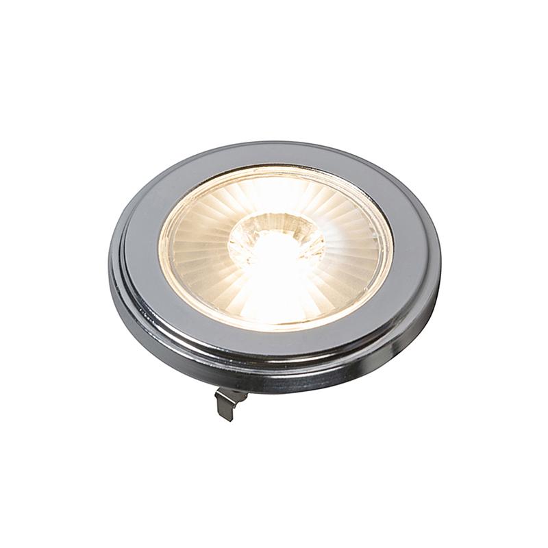 Set van 5 G53 dimbare AR111 LED lamp 10W 800LM 3000K