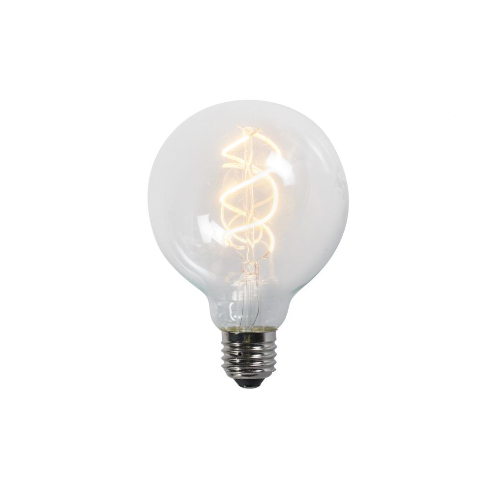 Żarówka LED E27 filament G95 5W 300lm 2200K przezroczysta
