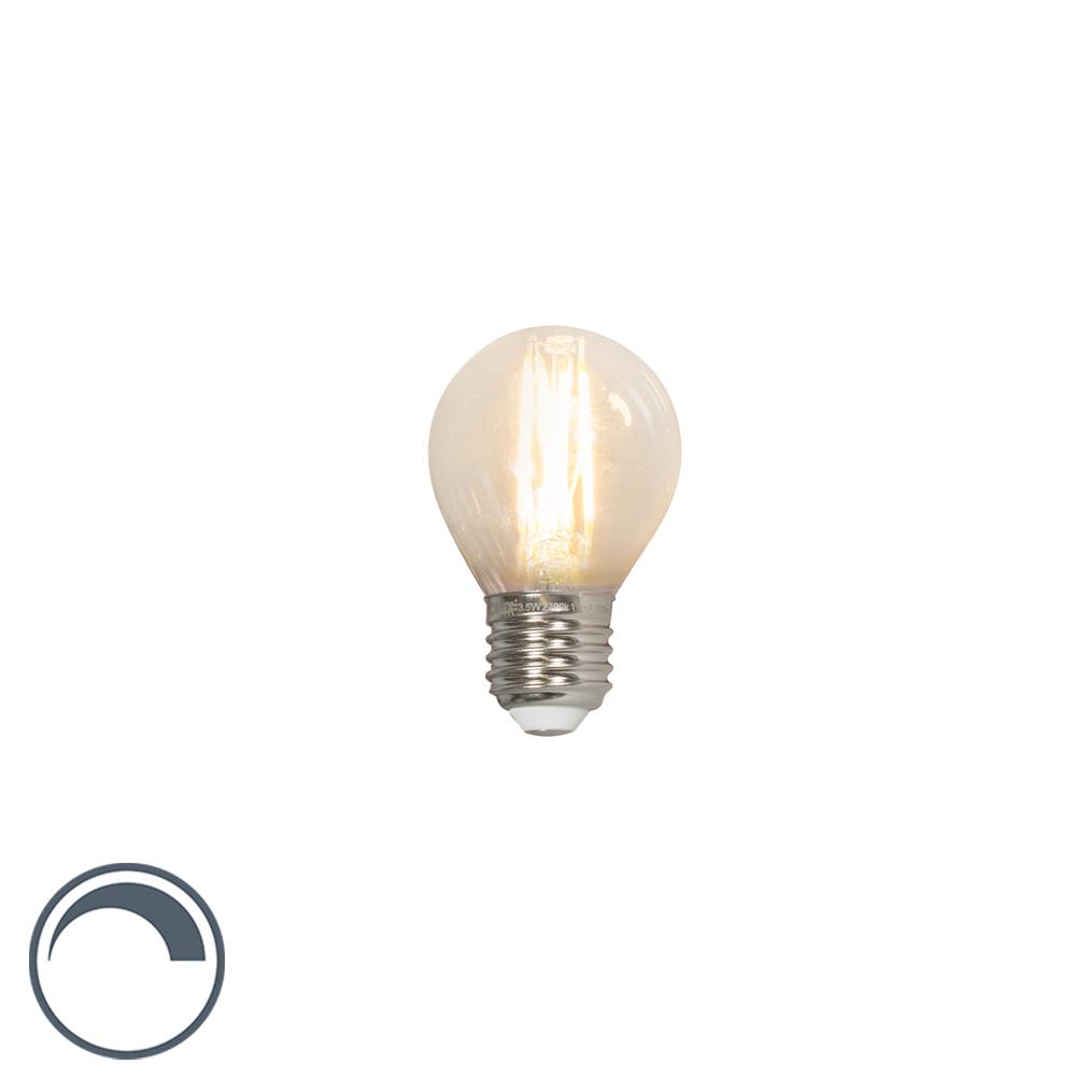 Bombilla de globo LED filamento E27 240V 3,5W 350lm P45 regulable