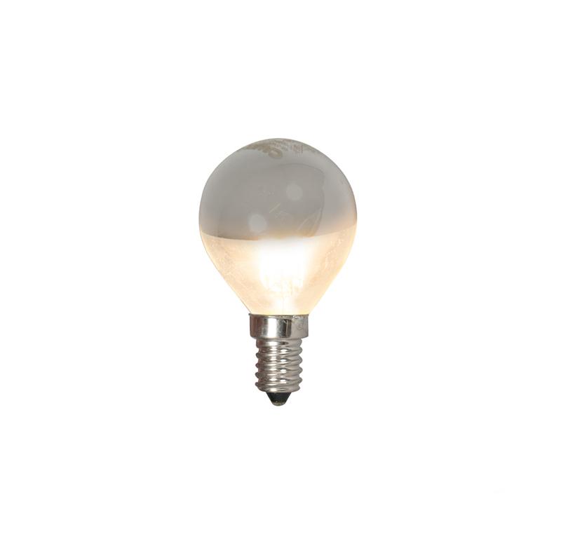 Żarówka lustrzana LED E14 E14 240V 4W 370lm kulka filament
