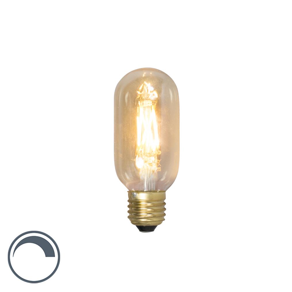 Bombilla de tubo LED filamento E27 240V 4W 320lm T45L regulable