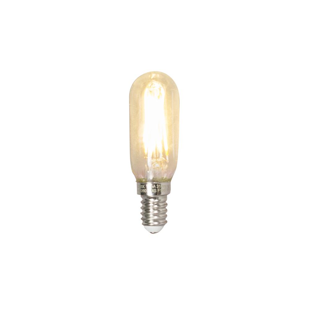 Set van 3 E14 dimbare LED T25L filament buislamp 3W 310 lumen 2700K