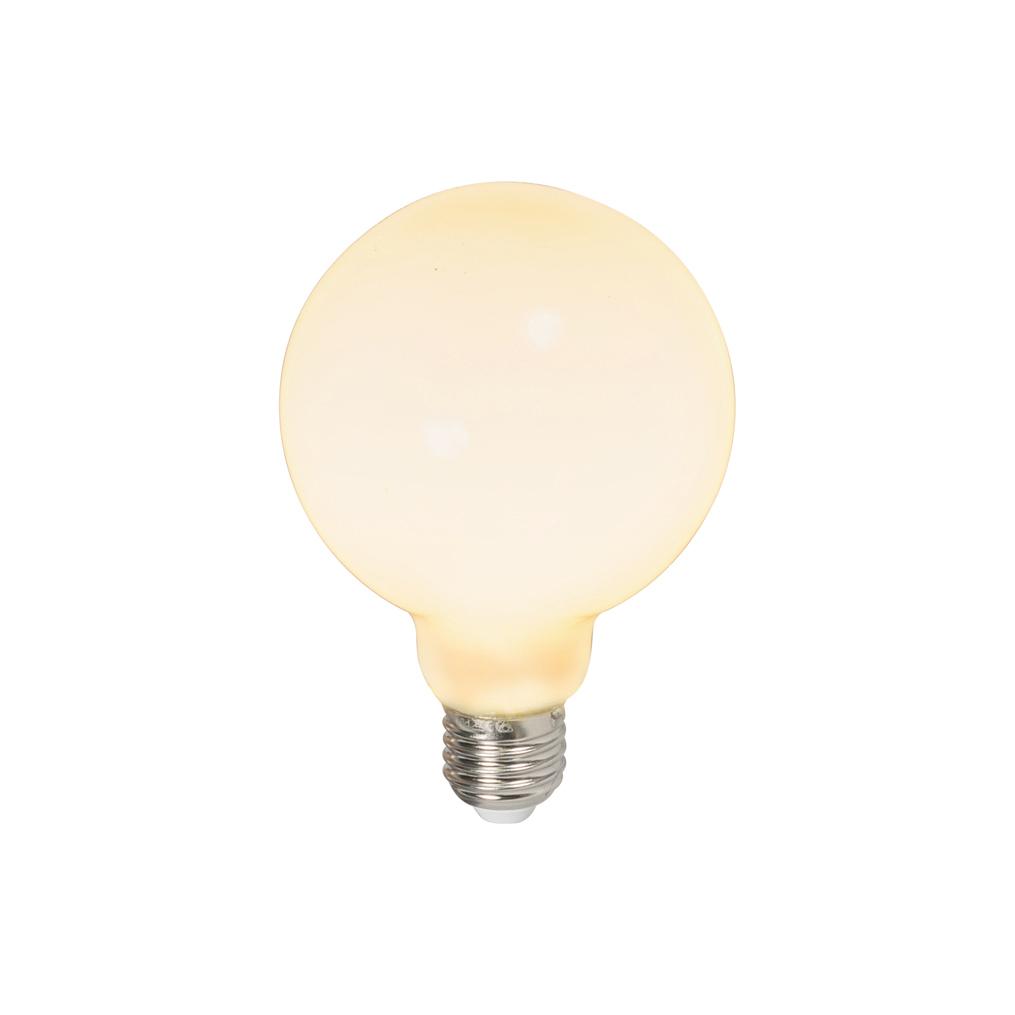 Set van 3 LED globelamp E27 240V 6W 650lm dimbaar