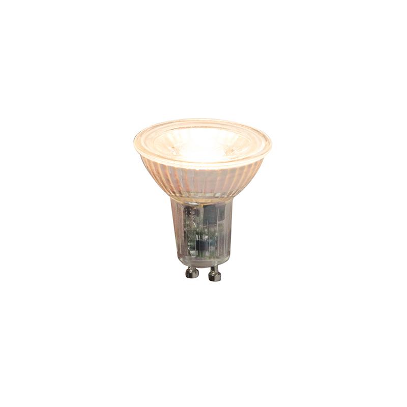 Set van 3 GU10 dimbare LED lampen 5,5W 360lm 2000K - 2700K