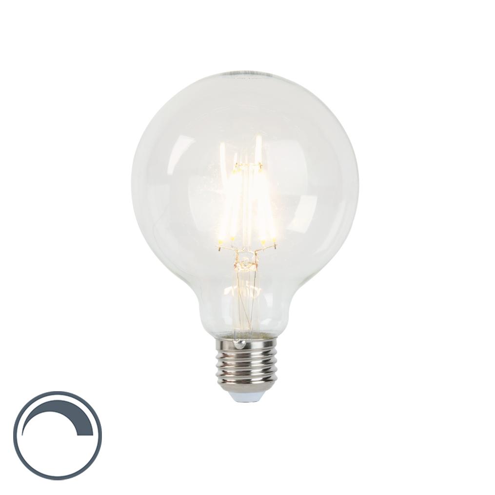 Żarówka LED E27 filament G95 5W 450lm 2700K ściemnialna