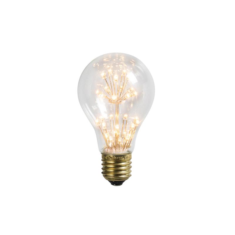 Set van 3 LED lamp E27 1.5W/136LM