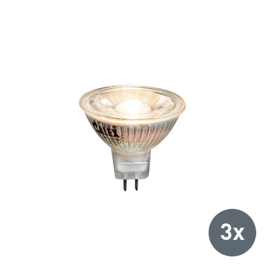 Zestaw 3 x żarówka LED MR16 3W 230lm 2800K