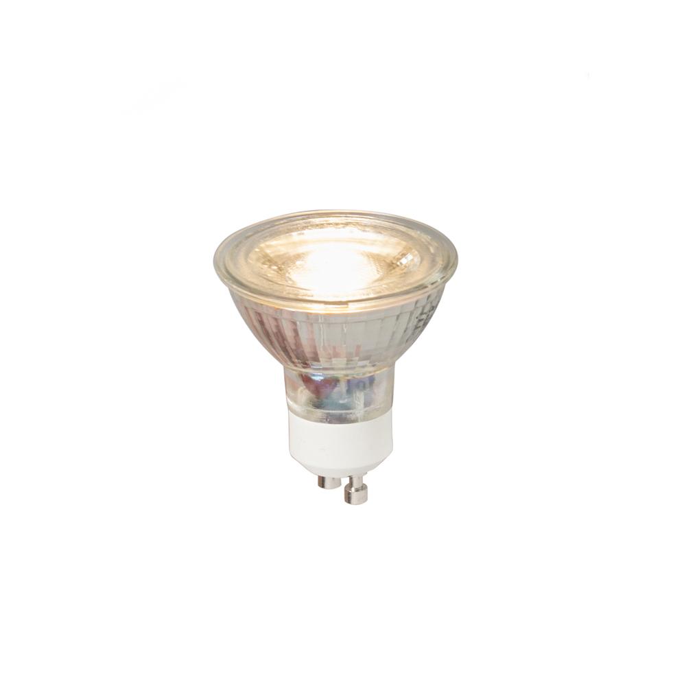 Set van 5 GU10 LED lamp COB 5W 380LM 3000K