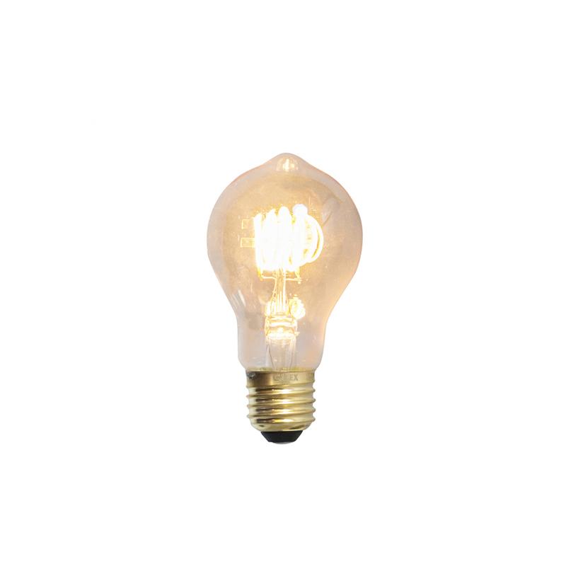 Set van 3 E27 dimbare LED filamentlampen 4W 200lm 2100 K
