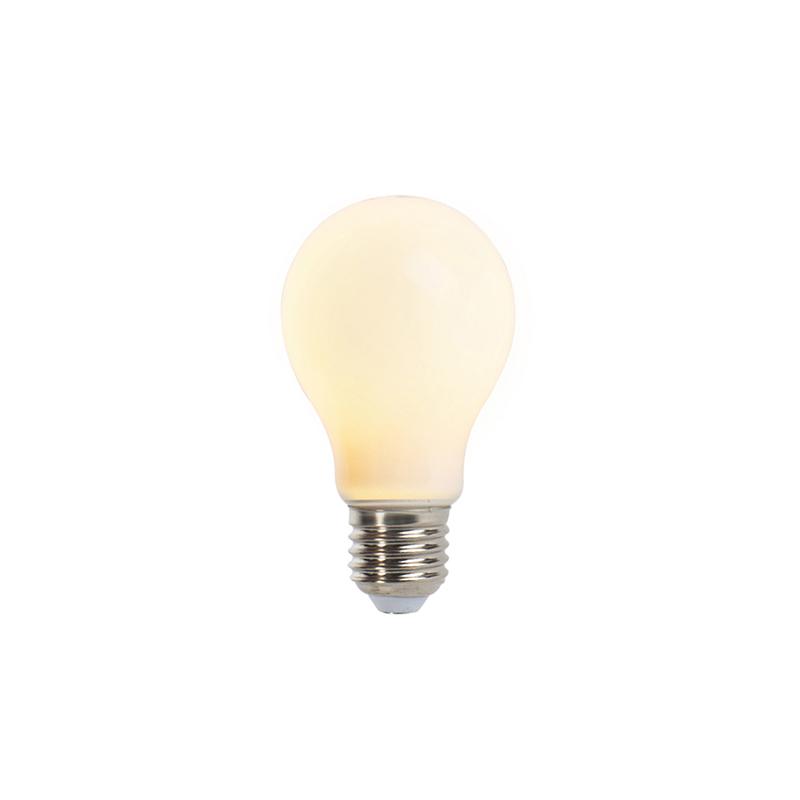 Set van 5 E27 dimbare LED lampen A60 mat 5W 380lm