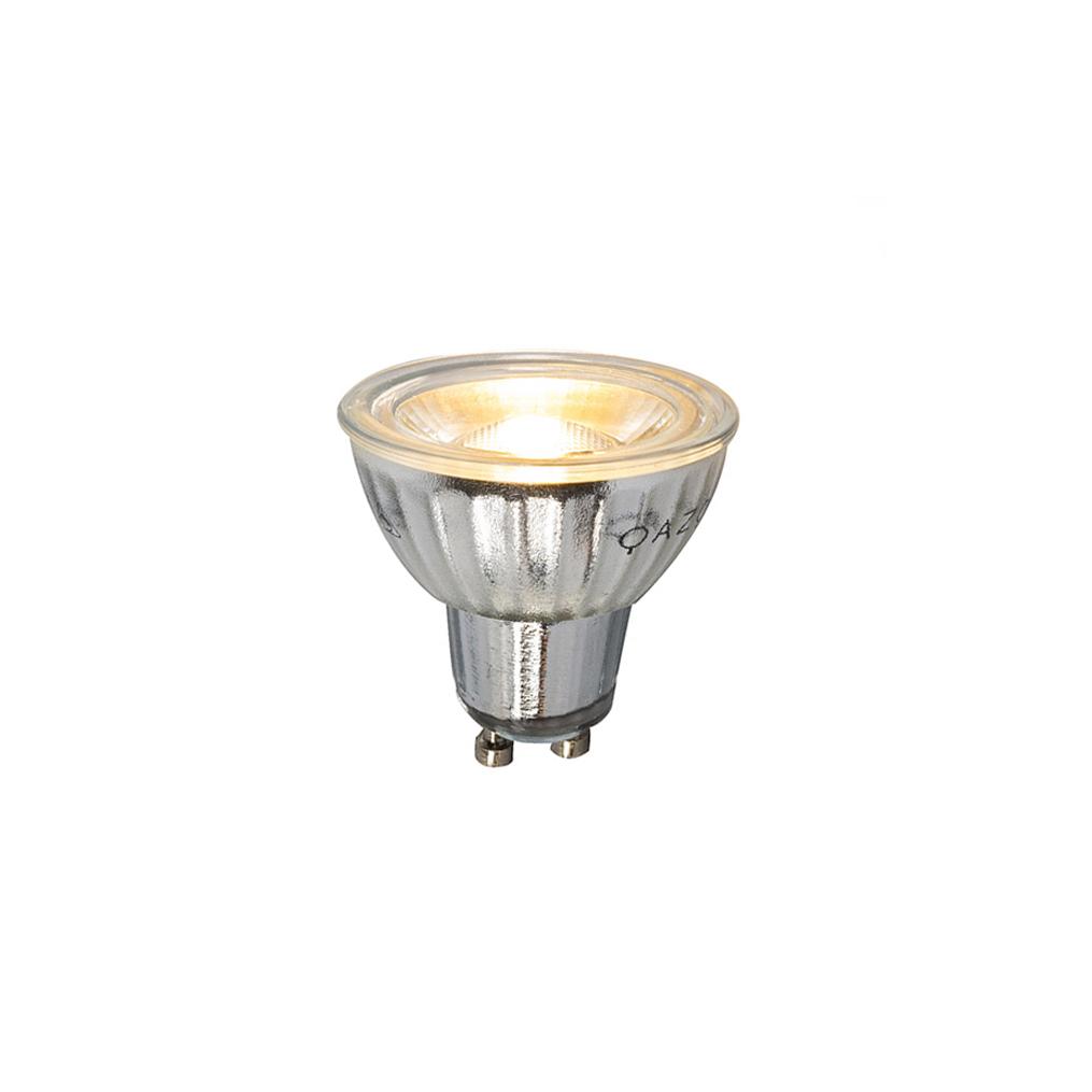 Set van 5 GU10 dimbare LED lamp 7W 500LM 2700K