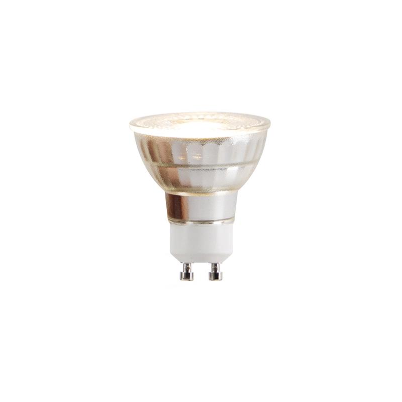 Set van 5 GU10 LED lampen COB 5W 380lm 2700K