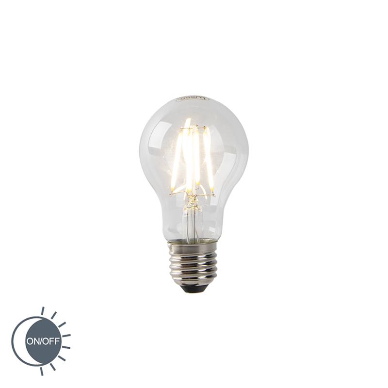 Żarówka LED E27 A60 4W 350lm 2700K czujnik zmierzchu