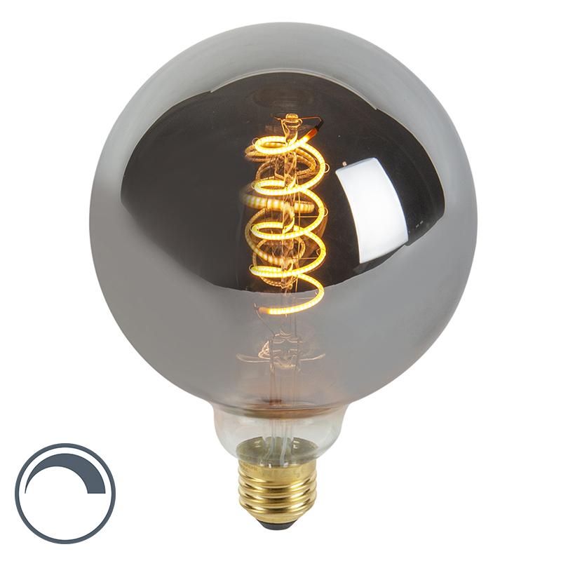 Żarówka LED E27 G125 4W 100lm 2100K ściemnialna filament