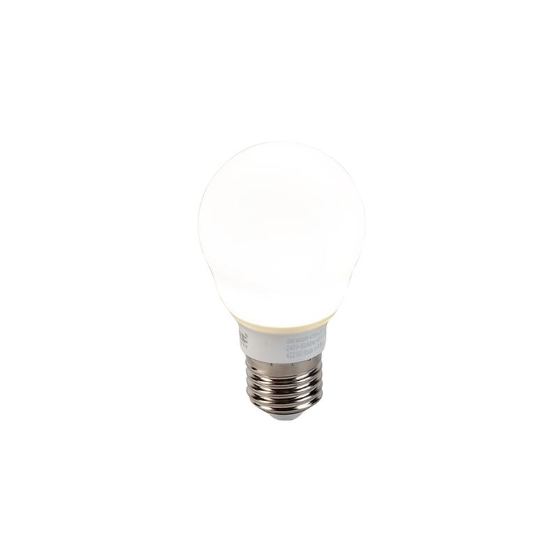 Żarówka LED E27 A60 5W 470lm 4000K mleczna