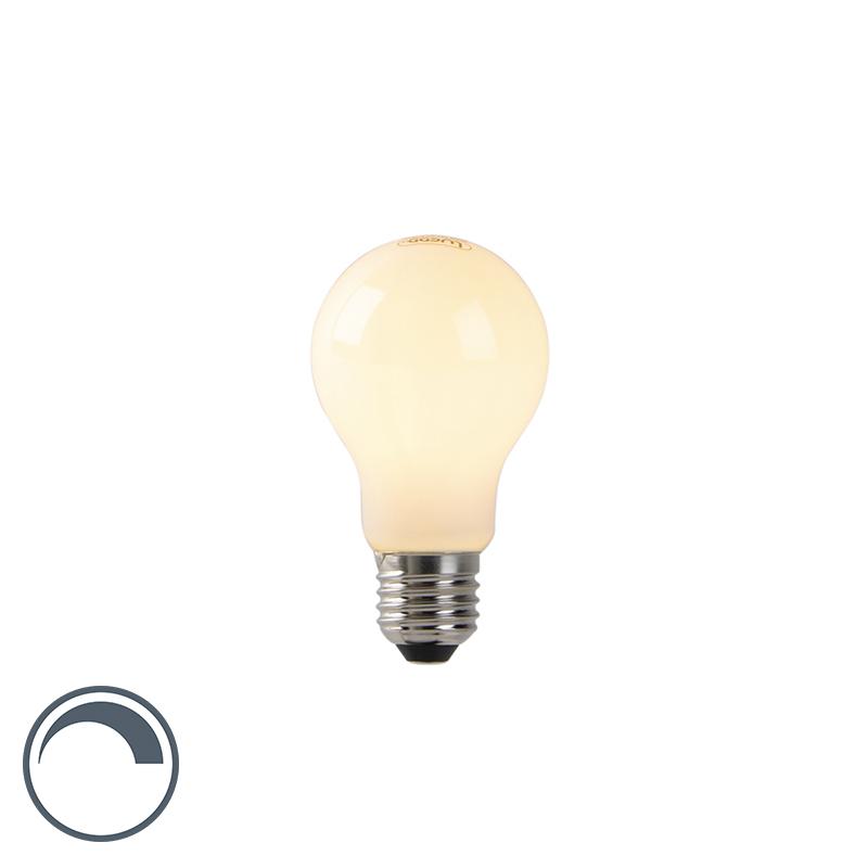 Żarówka LED E27 A60 4W 280lm 2200K mleczna ściemnialna