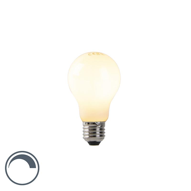 Żarówka LED E27 A60 7W 680lm 2200K mleczna ściemnialna