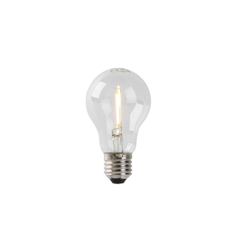 Żarówka LED E27 A60 1W 80lm 2200K