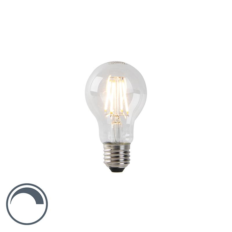 Żarówka LED E27 A60 4W 300lm 2200K przezroczysta ściemnialna