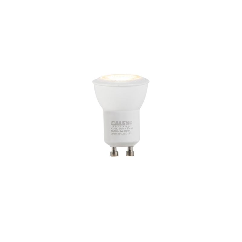 GU10 stmievateľná LED žiarovka 35mm 4W 260 lm 3000K