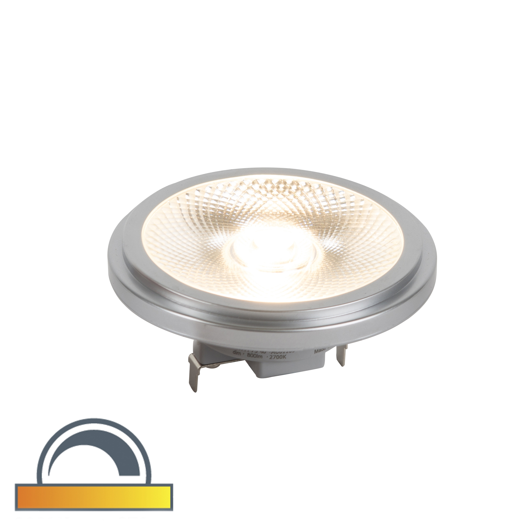G53 AR111 Parathom pro LED lamp 24° 12W 650LM dim to warm