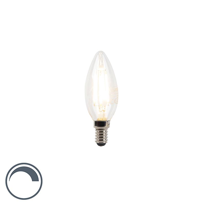 Żarówka świeczka LED E14 3W 300lm 2700K ściemnialna