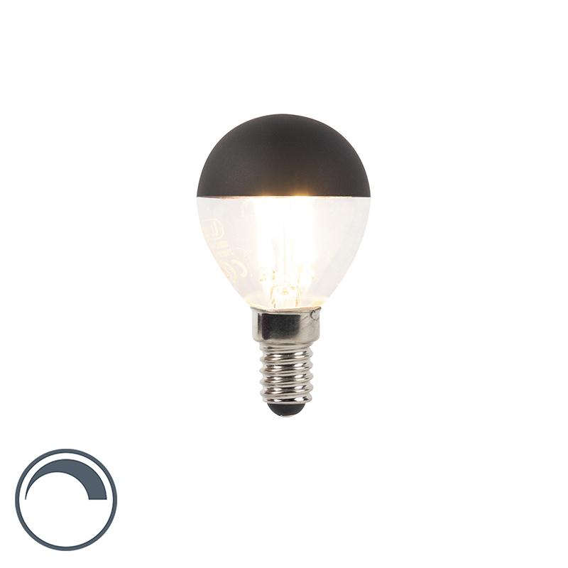 Żarówka lustrzana LED E14 P45 czarna 300lm 2700K ściemnialna