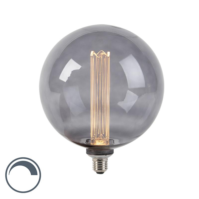 Lampa LED G200 E27 3,5W 2000K z funkcją ściemniania dymu