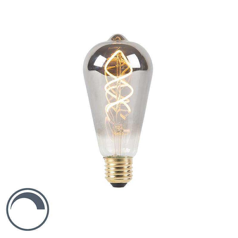 Żarówka LED E27 filament 100 lm 2100K przydymiona ściemnialna