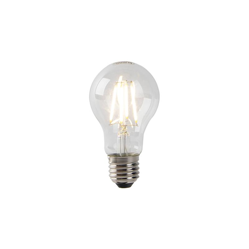 Set van 3 E27 LED filament lampen licht-donker sensor 2700 K
