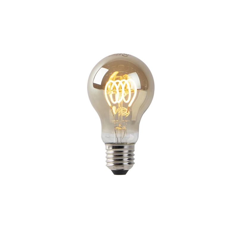 Set van 3 E27 dimbare LED lampen smoke 4W 160 lm 2200K