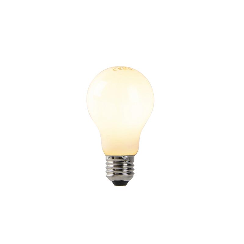 Set van 5 dimbare E27 LED lampen opaal glas 7W 806 lm 2200K