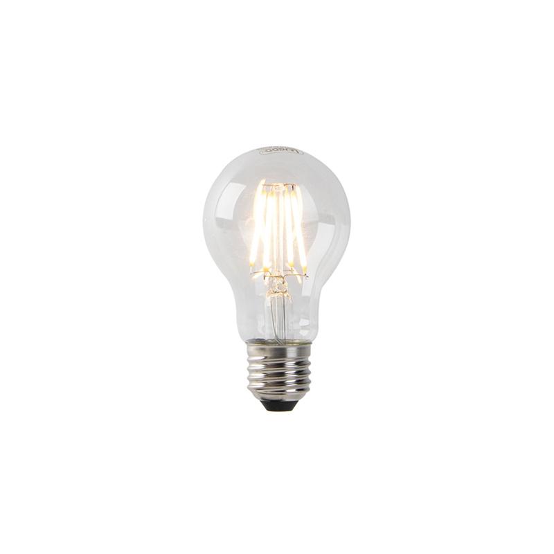 Set van 5 dimbare E27 LED lampen helder glas 4W 300 lm 2200K