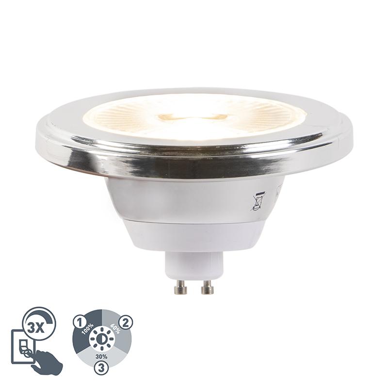 Żarówka LED GU10 AR111 5.5W 2700K 3-stopniowe ściemnianie