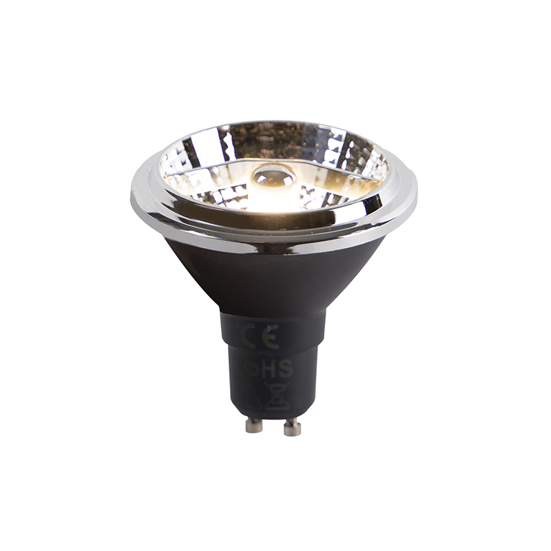 Set van 5 GU10 LED lamp AR70 6W 380 lm 3000K