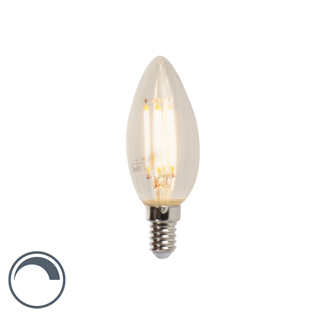 E14 dimmbare LED-Glühlampe B35 5W 470 lm 2700K | Lampen > Leuchtmittel > Mehr-Leuchtmittel | LUEDD