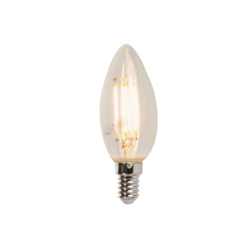 E14 dæmpbar LED-glødelampe B35 5W 360 lm 2700K
