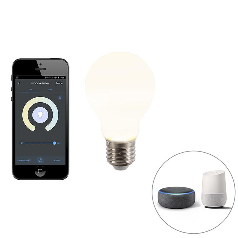 Inteligentna żarówka LED E27 A60 806lm 2200-4000K aplikacja ściemnialna