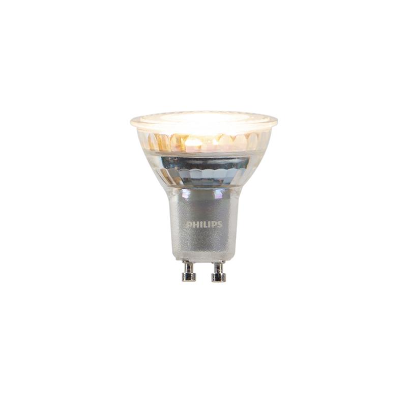 Set van 5 GU10 dim to warm Philips LED lampen 3,7W 260 lm