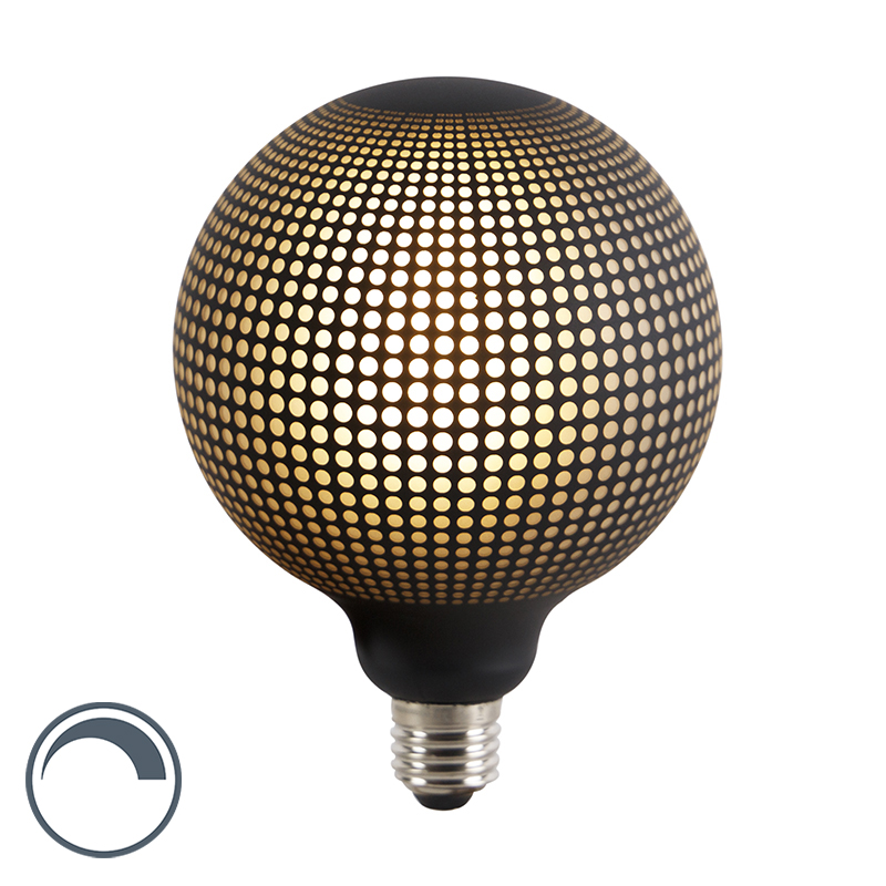 E27 dimbare LED filament globe lamp DECO 4W 100 lm 2700K