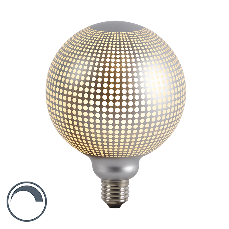 E27 dimbare LED filament globe lamp DECO 4W 240 lm 2700K