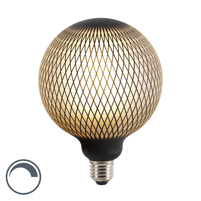 E27 dimbare LED filament globe lamp DECO 4W 180 lm 2700K