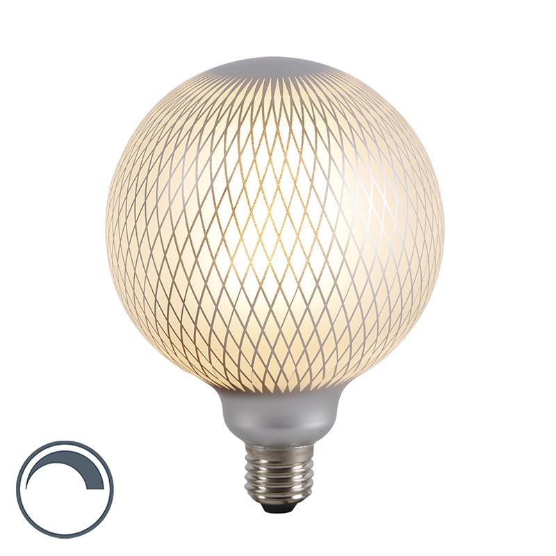 E27 ściemnialna żarówka LED kulista DECO 4W 320 lm 2700 K.