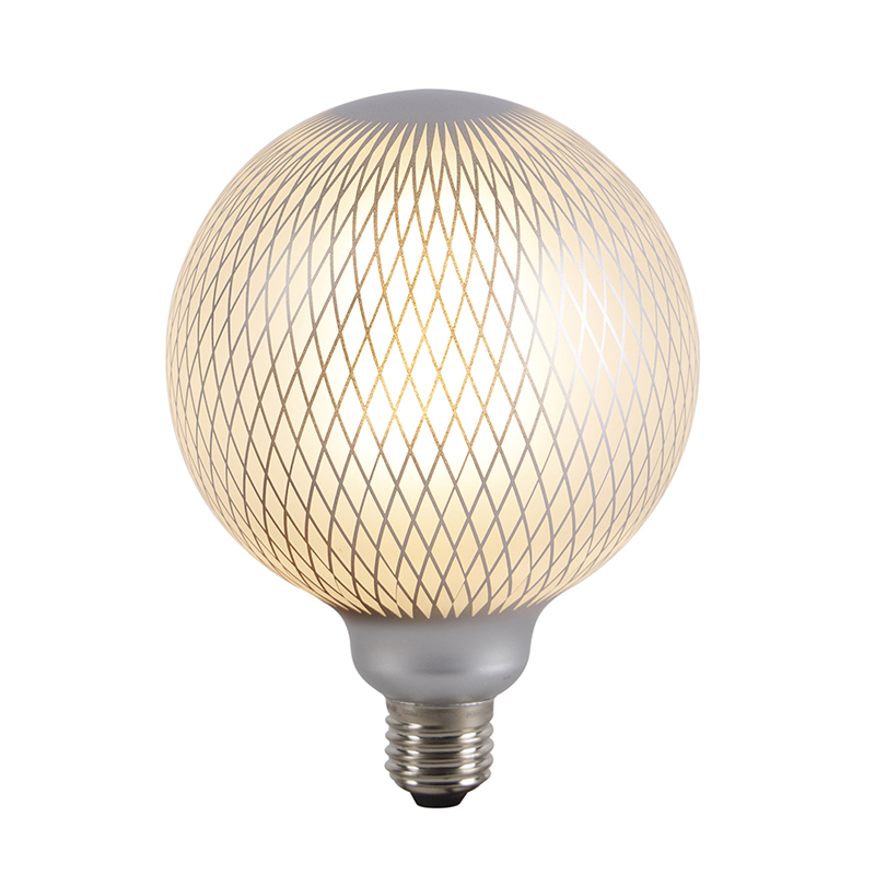 E27 dimbare LED filament globe lamp DECO 4W 320 lm 2700K