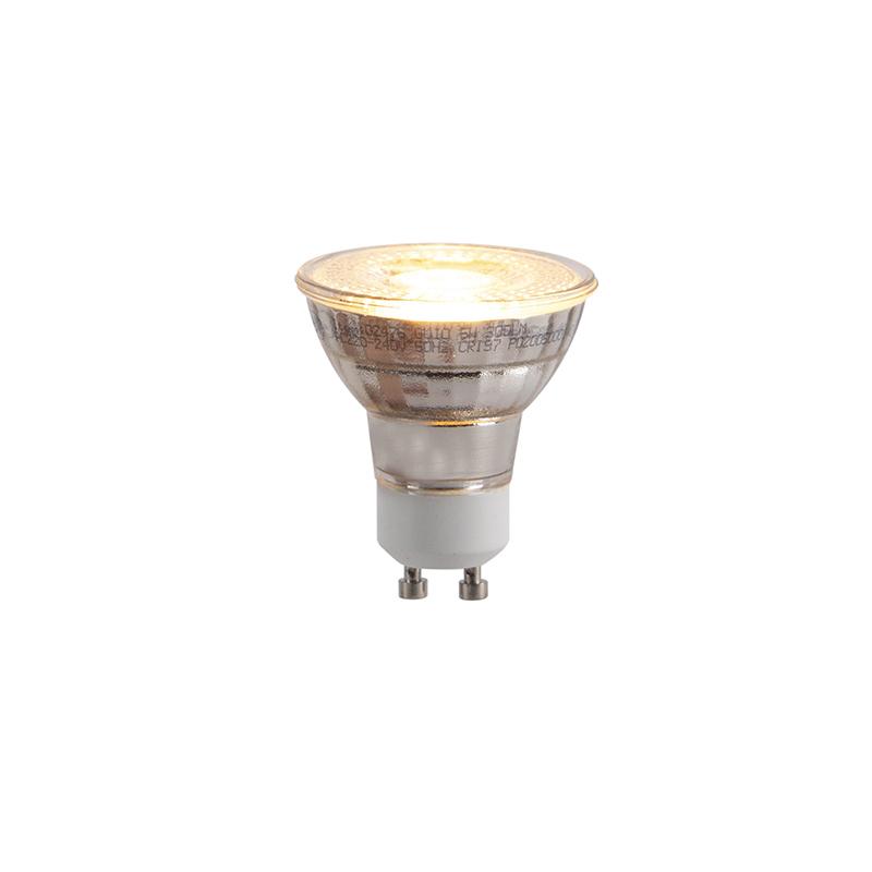 Set van 5 GU10 LED lampen 3-staps dimbaar in Kelvin 5W