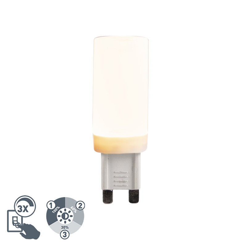 G9 3-staps dimbare LED 4,5W 500 lm 2700K