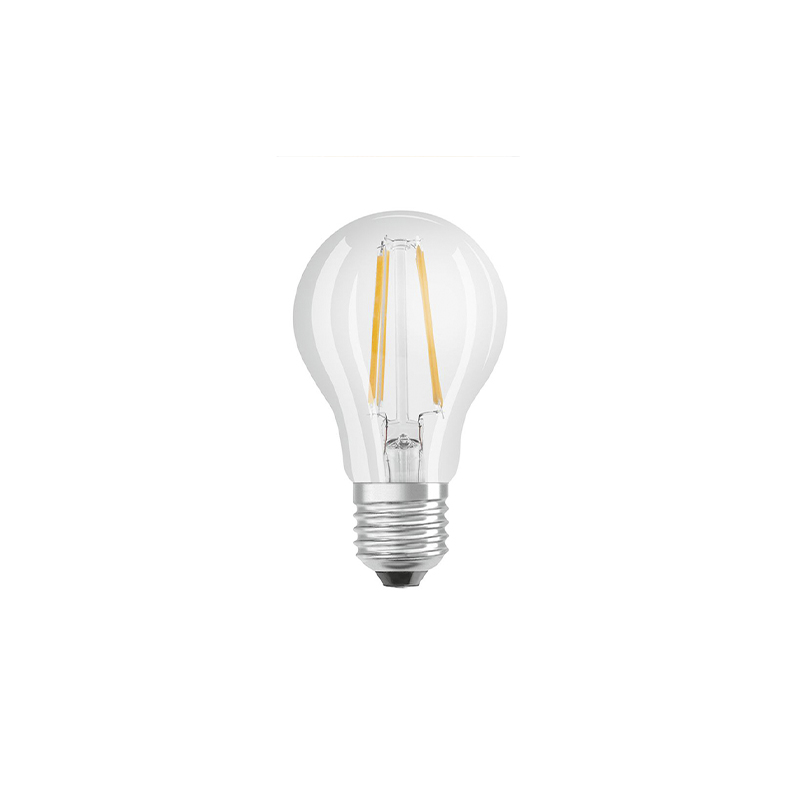 E27 stmievateľná LED žiarovka A60 číre vlákno 7W 806 lm 2700K